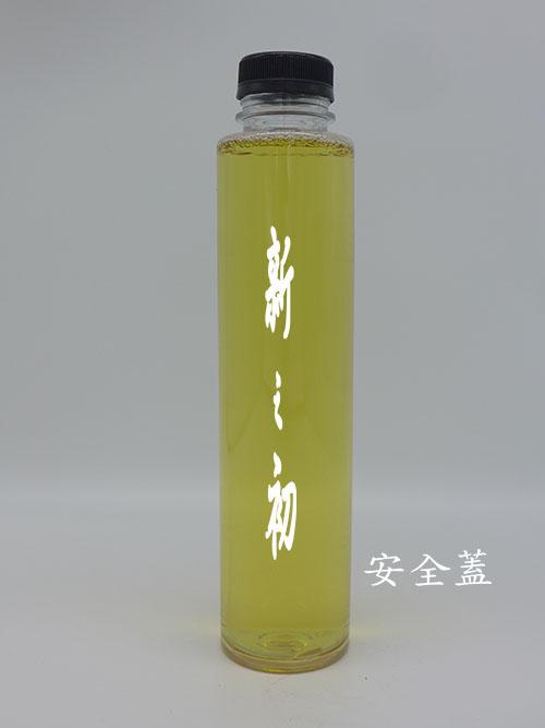 38-600寬口圓形透明瓶