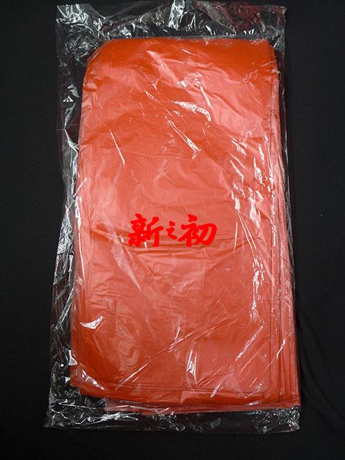 素面桌巾紅