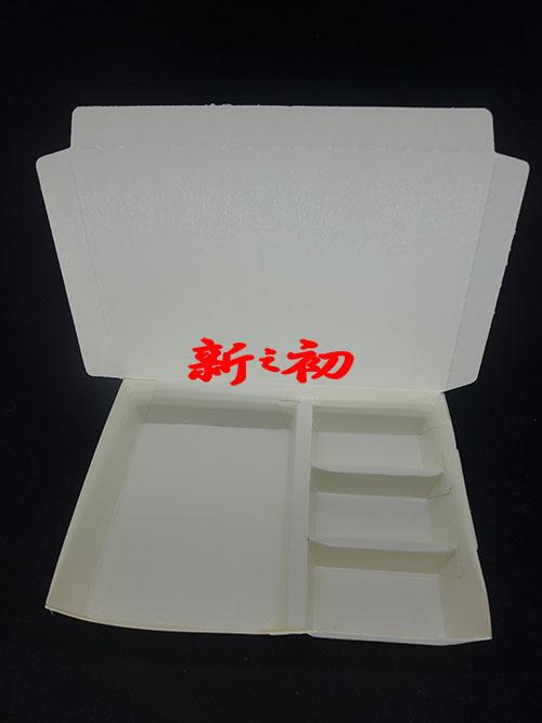 左右四格401紙餐盒