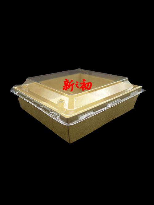 PA-FA435方型輕食盒低蓋