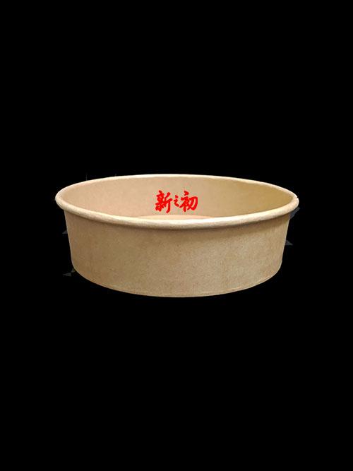 600牛皮扁紙碗