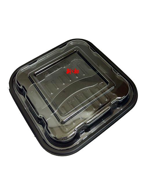 HK202方形二格餐盒