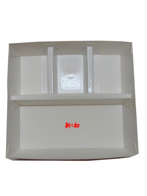 404四格紙餐盒(OPS蓋)